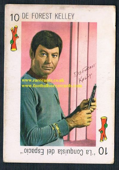 1960s Star Trek Bones McCoy Deforest Kelley SPAIN